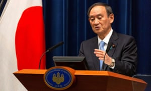 Japanese Prime Minister Yoshihide Suga speaks during a news conference in Tokyo, Japan March 5, 2021.