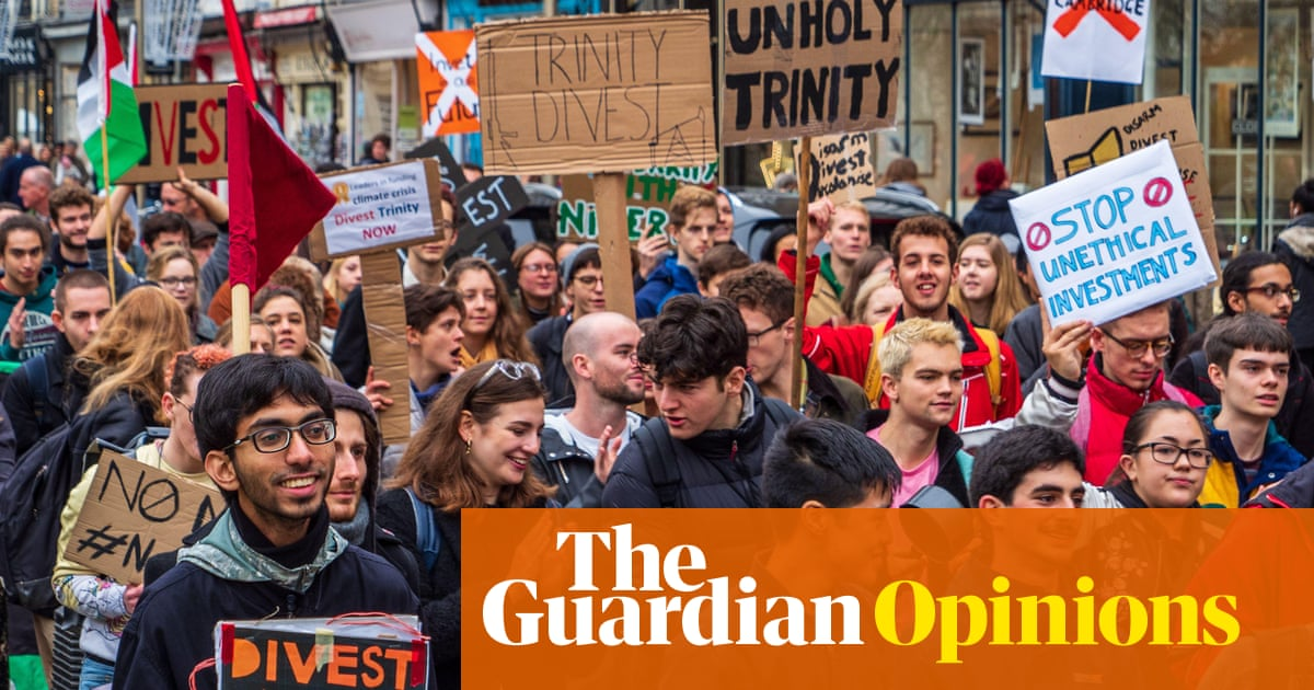Cambridge is right to join the flight from fossil fuels. But divestment is just a start