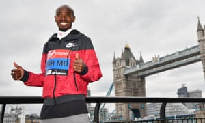 Mo Farah came third in last year's London marathon and believes he can win it this year.