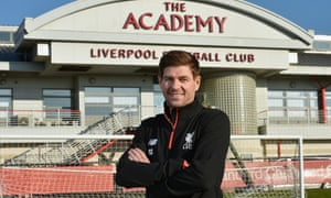 Steven Gerrard, a Liverpool academy coach, says: 'It was important to get a taste of it away from the cameras before you go into the madness.'