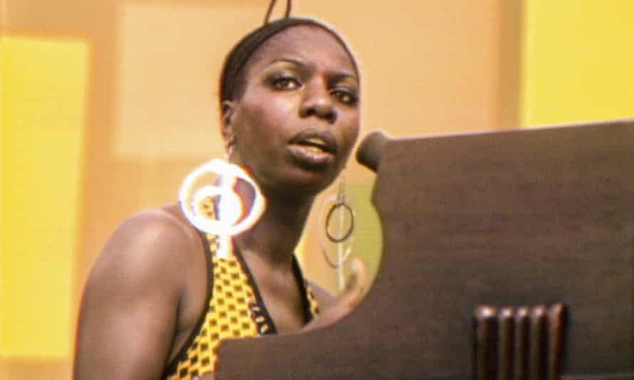Harlem shakes ... Nina Simone at the cultural festival in 1969.