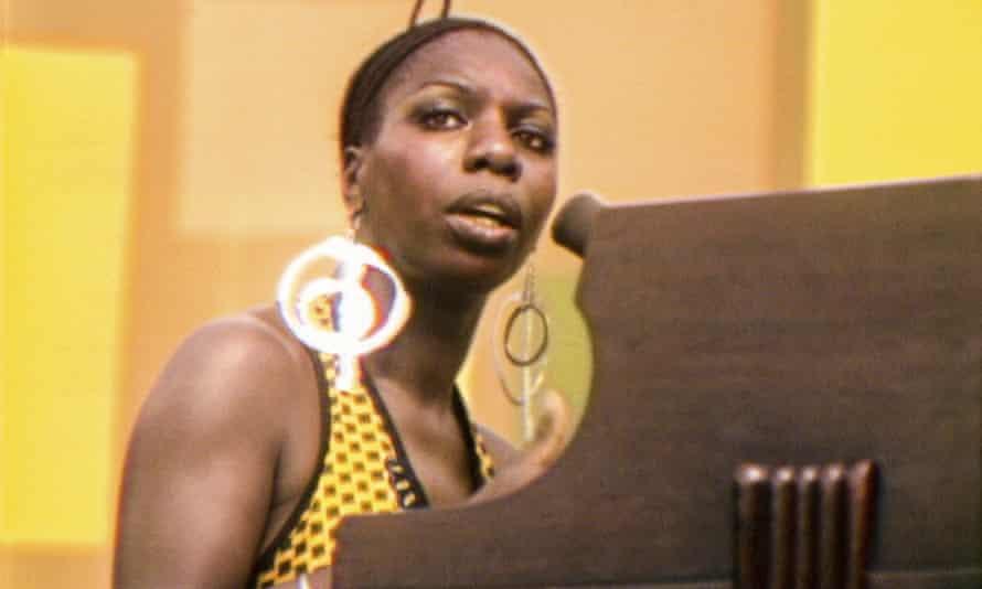 Nina Simone in Summer of Soul.