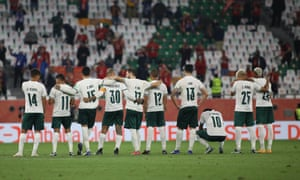 Palmeiras finished last at the Club World Cup.