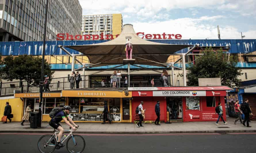 Elephant and Castle shopping centre, London