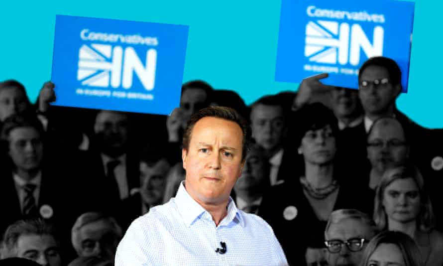 David Cameron launches the Conservatives IN campaign.