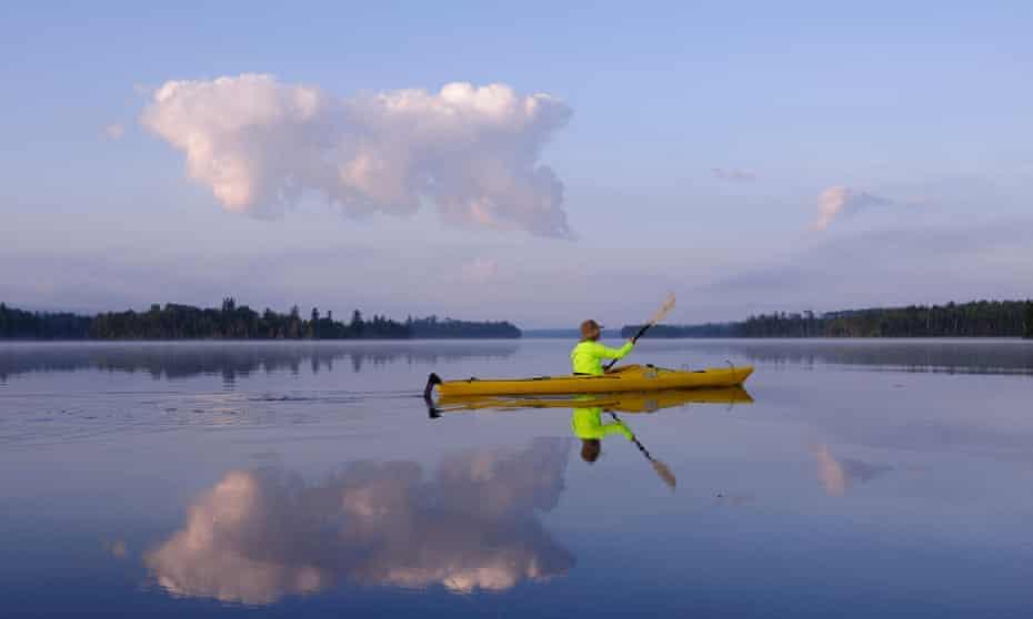 Boundary Waters Canoe Area Wilderness in Minnesota.