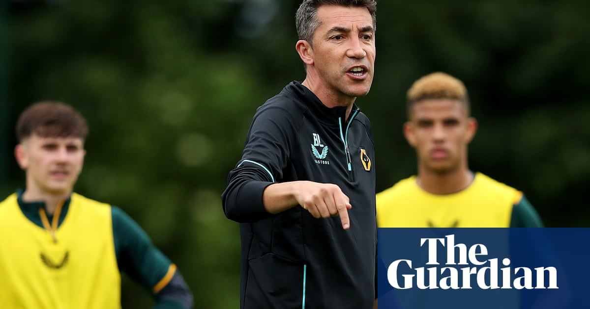 Wolves' surprise package Bruno Lage hopes to bring fresh brew to Molineux