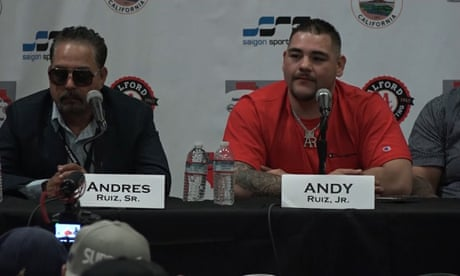 Andy Ruiz Jr: 'Anthony Joshua is not good at boxing' - video