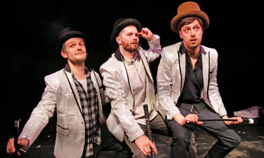 Deeply strange … Daran Johnson, Liam Williams and Alastair Roberts.