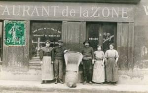 Restaurant de la Zone, c 1910