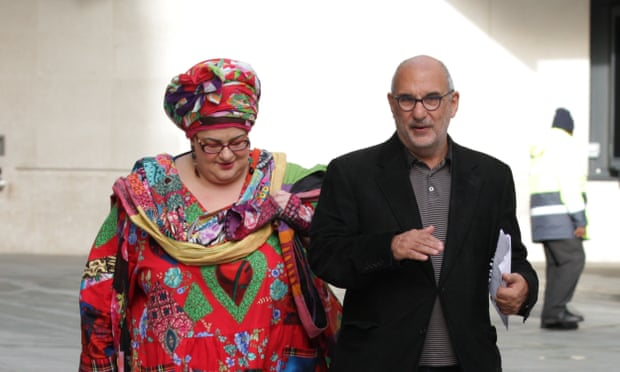 Alan Yentob and Camila Batmanghelidjh