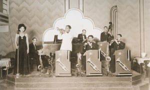 The Chic Chocolate band at Bristol Grill in 1945