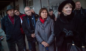 Germans who were expelled from Czechoslovakia and their descendants go on a tour of Prague taking in sites linked to the expulsions.