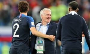 Didier Deschamps will have lifted the World Cup as both a player and a coach if France beat Croatia in the final.