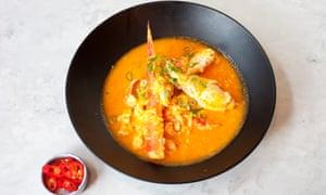 'No heat at all': Singapore chilli crab.