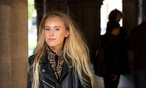 Nina Smith, 17, from Paisley