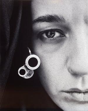 'The weapon looks like jewellery' … Speechless (1996) by Shirin Nesha