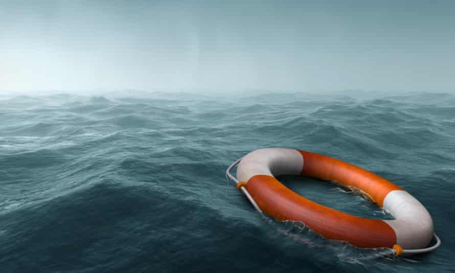 lost rescue buoy