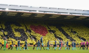 Graham Taylor tribute in the Rookery Stand.