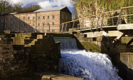 Cromford Mill in Derbyshire – England's first factory –
