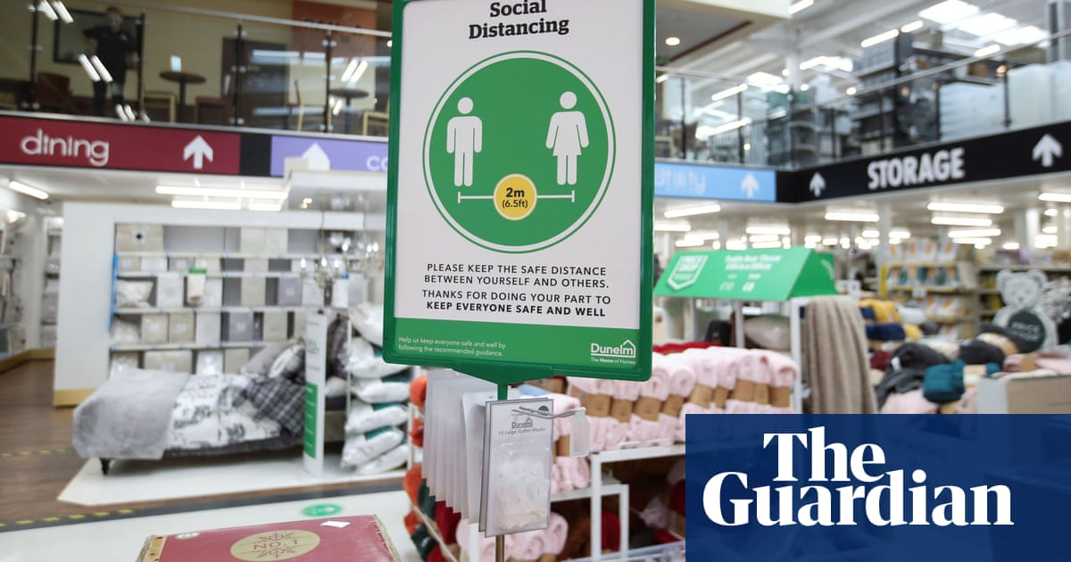 Dunelm sales soar after shoppers flock to stores as Covid controls ease