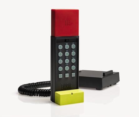 Ettore Sottsass – 'Enorme' Telephone (1986).
