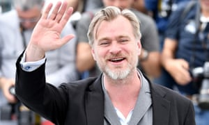 Christopher Nolan at a photocall in Cannes.