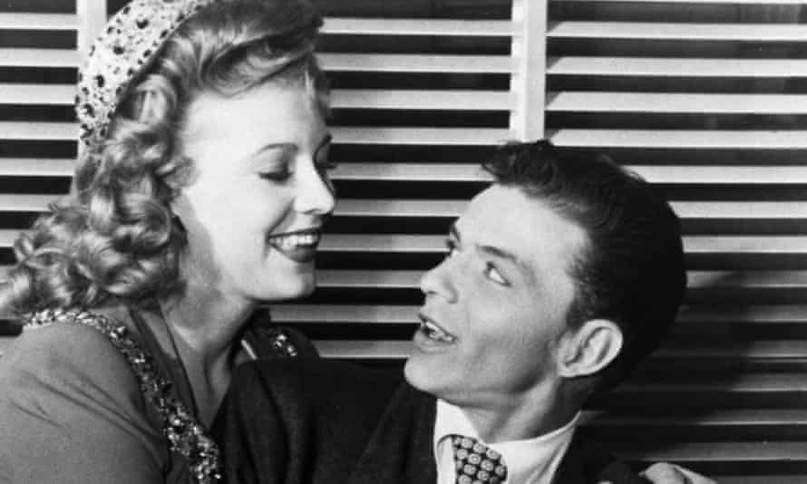Anne Jeffreys with Frank Sinatra in Step Lively, 1944.