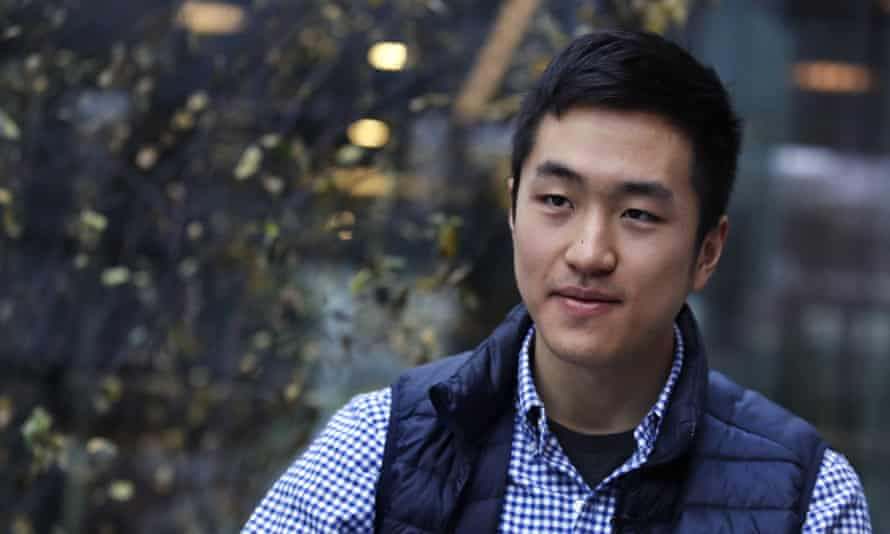 Jin Park, 22, is a recent Harvard University graduate whose family came to the US when he was seven.