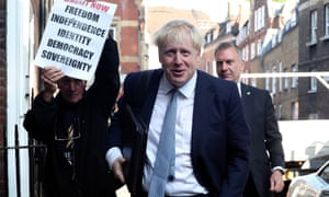 Boris Johnson on course to win Tory leadership contest | Politics | The Guardian