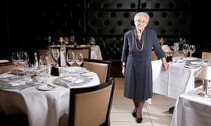 Elena Salvoni at the Little Italy restaurant in Soho, London, 2011.