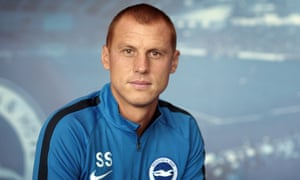 Steve Sidwell has played his last game for Brighton but has stayed on at the club as under-16s coach.