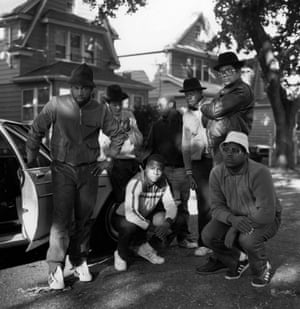 Run DMC and friends, in Queens, 1984 In 1984, Janette Beckman got an assignment from the Face to photograph 'a new group called Run DMC'. She says: 'I called the number they gave me, Jam Master Jay's mum's house. We met at the Hollis subway station and Jay walked me to the street where they lived. The group were hanging out with friends, I started to take photos – this was maybe my second shot. Seems like a moment in time, they looked perfect in their Kangols, Cazals and Adidas'