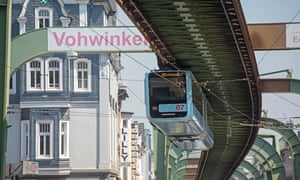 the Wuppertal Schwebebahn, Germany