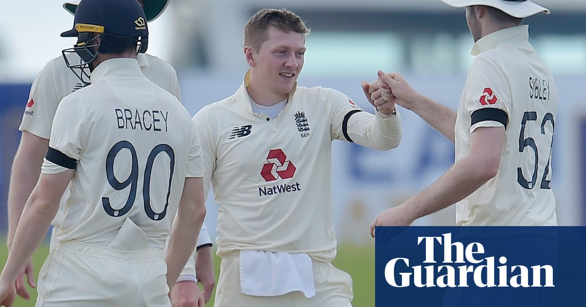 Dom Bess accepts good fortune on way to five-wicket haul in Sri Lanka