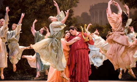 Monteverdi's L'Orfeo, in a 2007 production at the Edinburgh international festival.