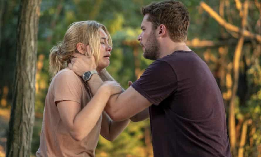Florence Pugh and Jack Reynor and  in Midsommar