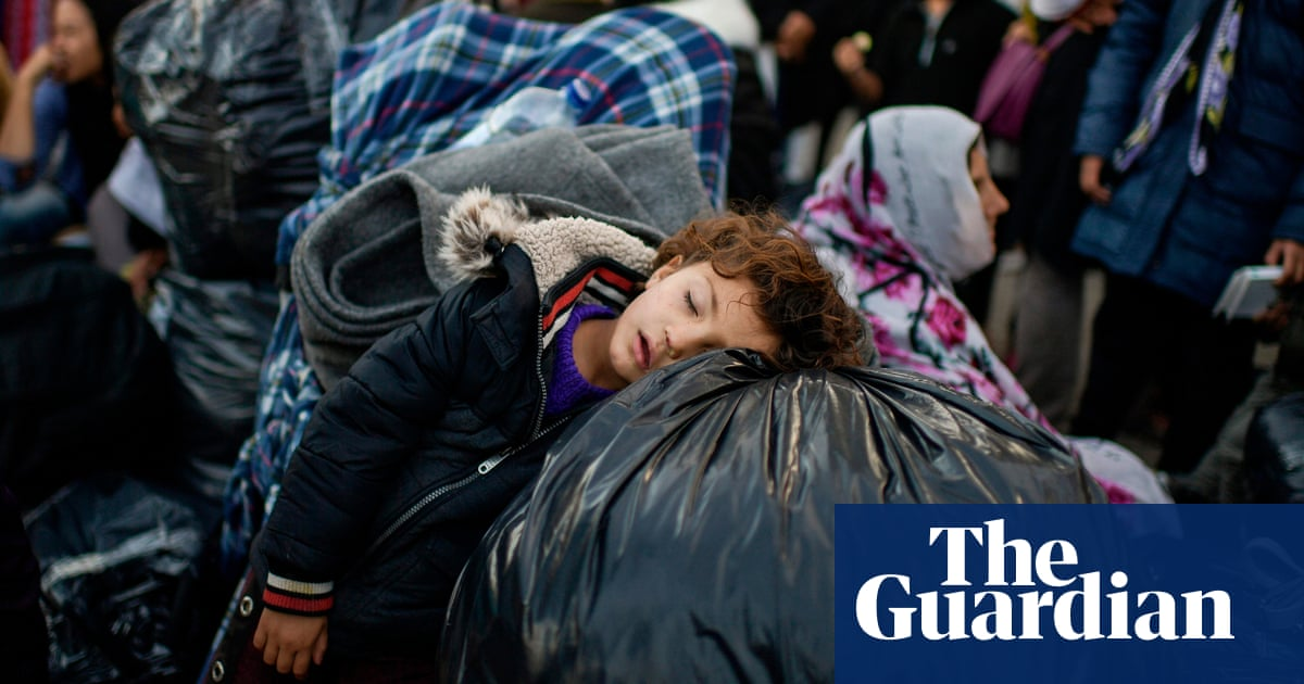 Life in a Greek makeshift migrant camp – in pictures