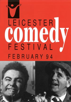 Brochure for Leicester's first comedy festival in 1994.