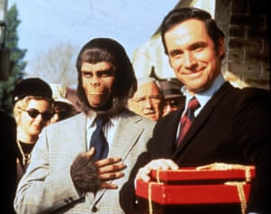 Bradford Dillman in Escape from the Planet of the Apes, 1971.