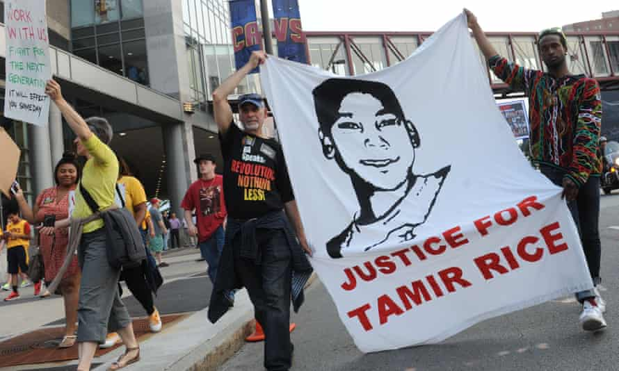 Demonstration in support of Tamir Rice
