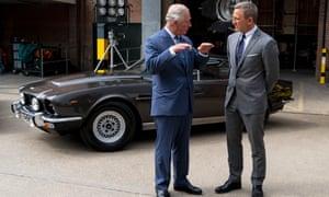Prince Charles: 'PEEKABOO!'Daniel Craig: 'I don't get it.'Prince Charles: 'PEEKABOO! PEEKABOO!'Daniel Craig: 'I'm sorry your majesty, I don't …'Prince Charles: 'PEEKABOO!'