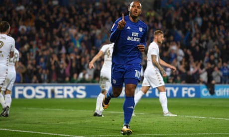 Cardiff back on top as Kenneth Zohore's double takes Leeds down a notch