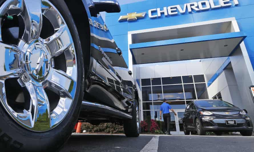 The couple used the money to make a down payment on a Chevrolet SUV.