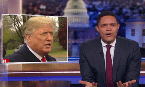 Trevor Noah: 'Why does the news keep bringing on non-scientists to argue against science?'