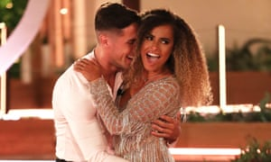 Causing a national upset ... Amber and Greg beat Tommy and Molly-Mae in the Love Island final.
