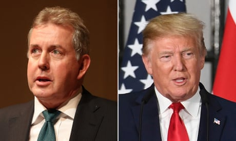 How can Kim Darroch represent Britain in Trump's Washington now?