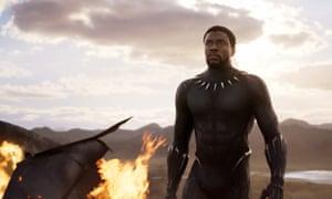 So lit … Chadwick Boseman in Marvel's Black Panther.
