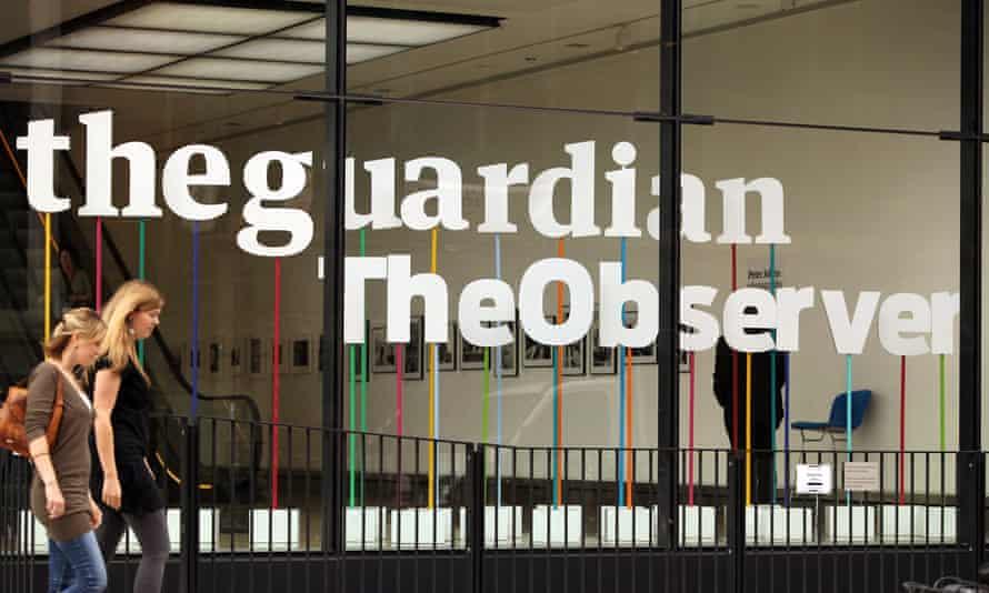 The Guardian office near King's Cross, London.