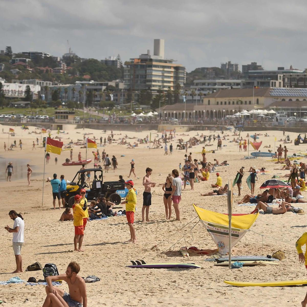 Bondi Beach Closed After Crowds Defy Ban On Gatherings Of 500 Plus Bondi The Guardian